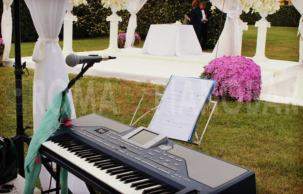 Wedding ceremony music Romadjpianobar music service