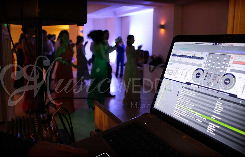DJ Service Italy Romadjpianobar show agency organizing events and weddings