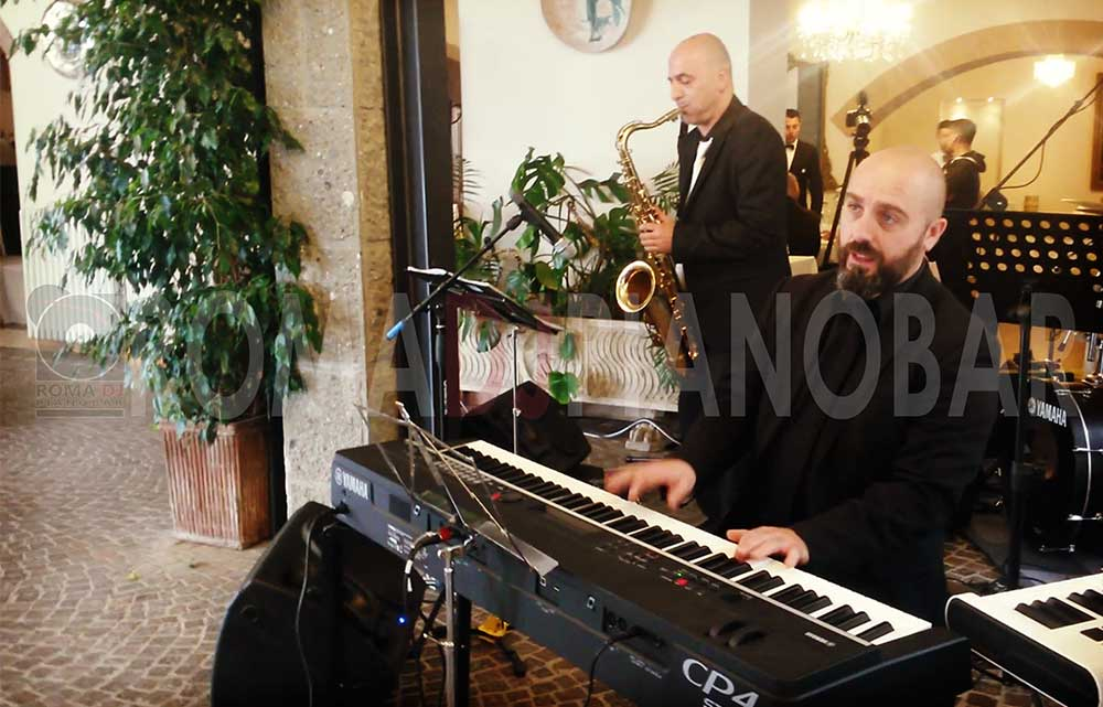 Jazz band matrimoni ed eventi con Romadjpianobar
