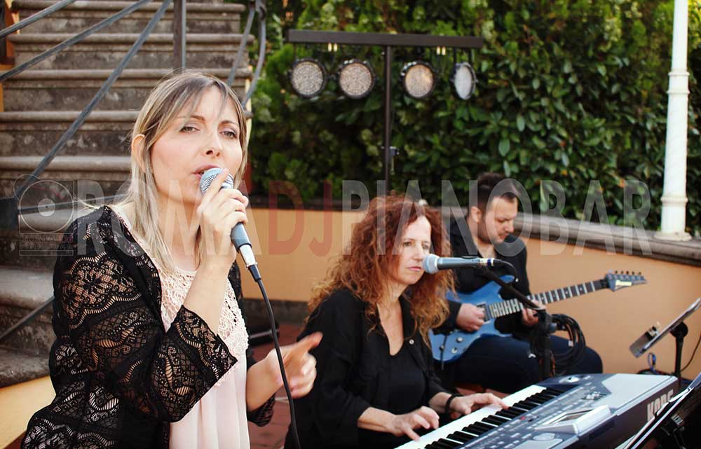 Live singer for wedding Rome Italy - Romadjpianobar music services