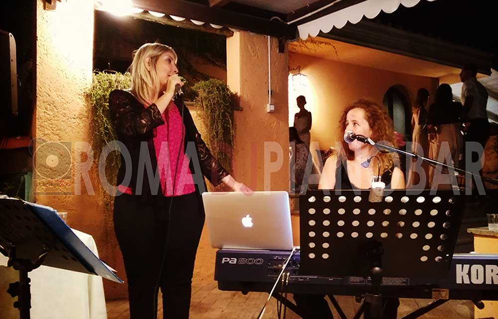 Live music wedding singer pianobar Rome Italy with Romadjpianobar wedding services