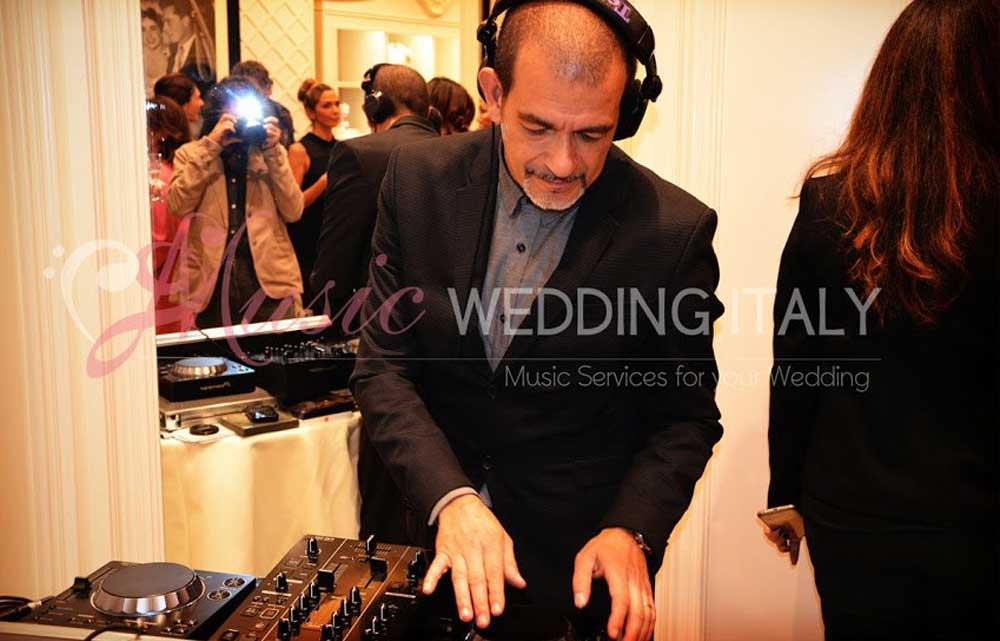 The Dj Gianpiero Fatica for opening inauguration in Rome, play the djset for Pronovias, global luxury bridal brand